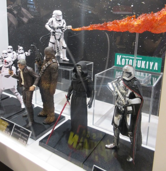 Kotobukiya Last Jedi!