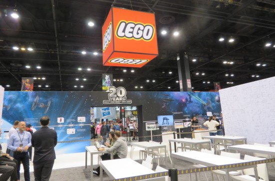 Lego Booth!