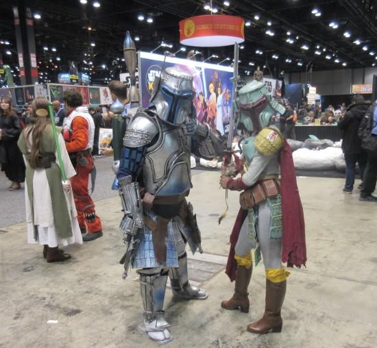 Medieval Jango and Boba Fett!