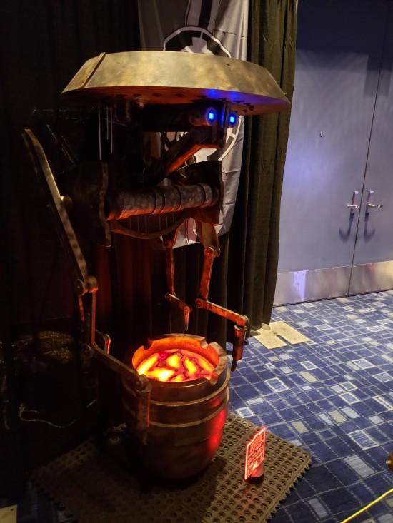 Mustafarian panning droid!