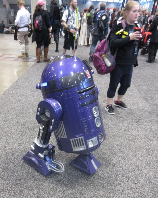 Purple Astromech!