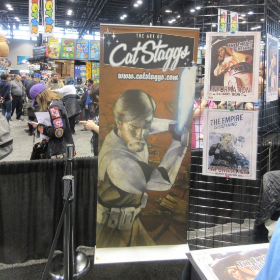Cat Staggs Booth!