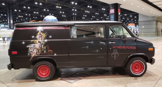 Star Wars 70s van!