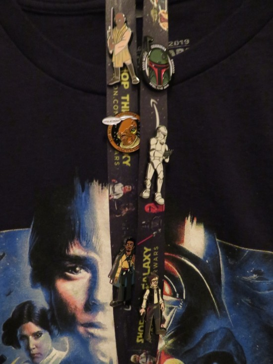 Star Wars pins!