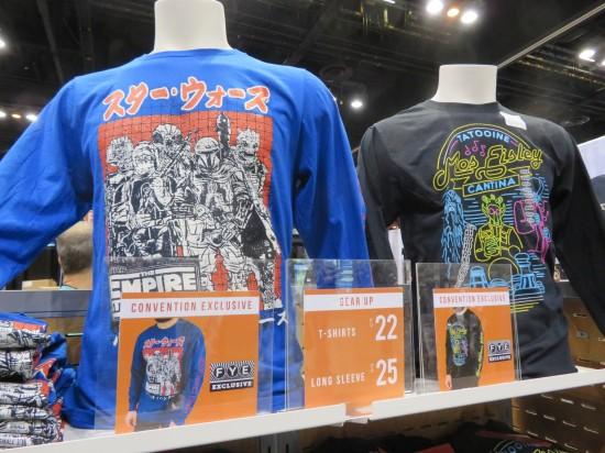 Star Wars shirts!