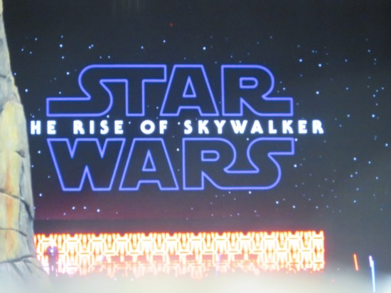 Rise of Skywalker!