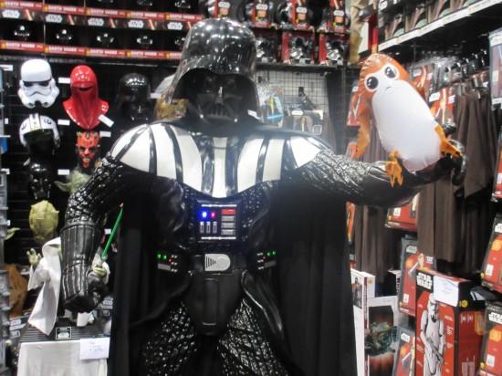 Vader and Porg!