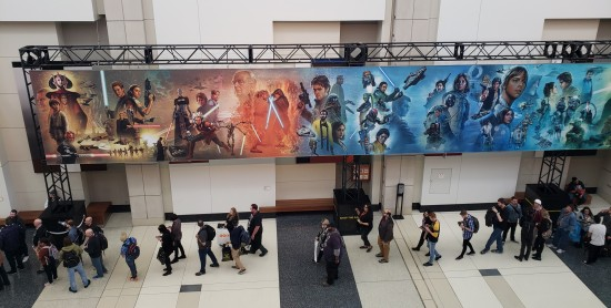 Star Wars Celebration Banner Left!