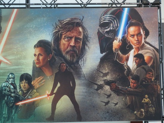 Star Wars Celebration Banner End!