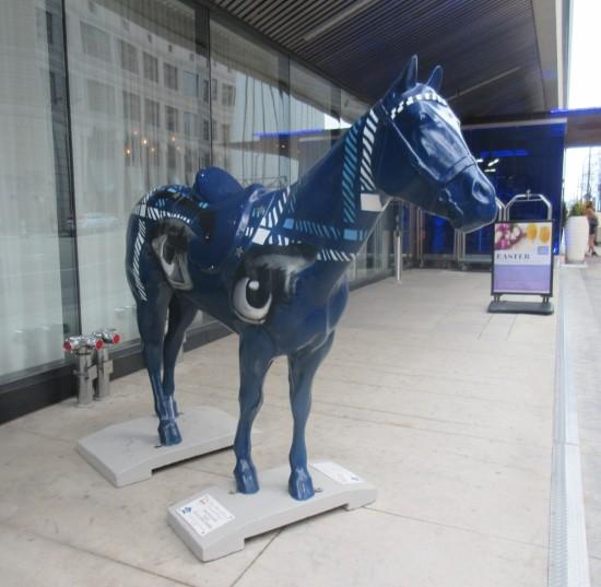 Radisson Blu horse!