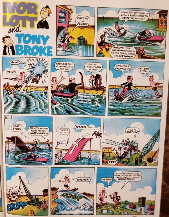 British comic strips!