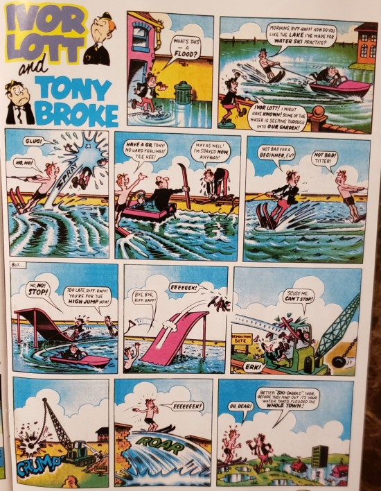 British comic strips!