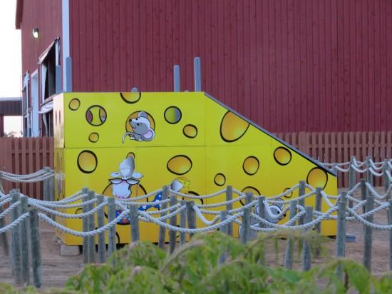 cheese slide!