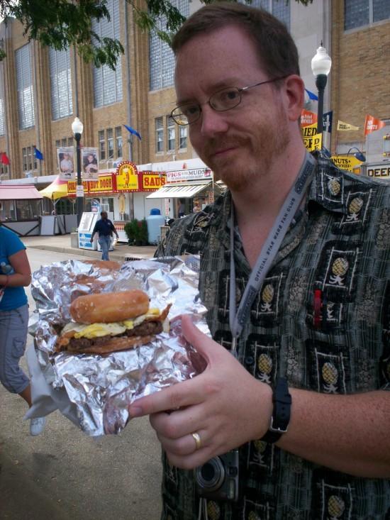 Donut Burger 2010!