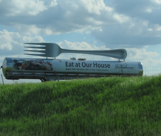 Fair Oaks fork tanker!