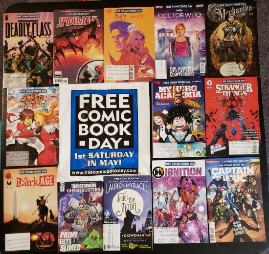 Free Comic Book Day 2019!