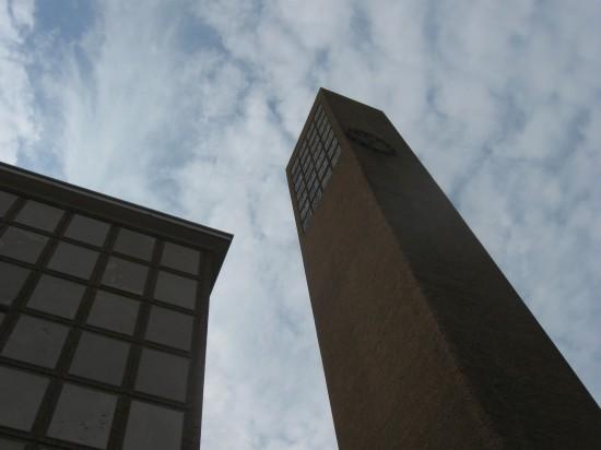 First Christian Church tower!