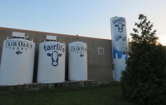 milk tanks!