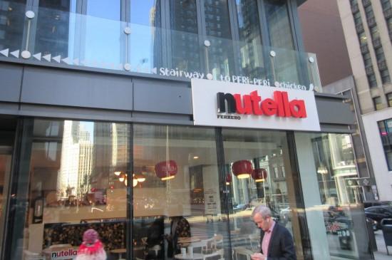 Nutella Cafe!