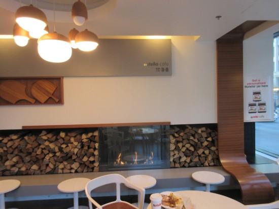 Nutella Fireplace!