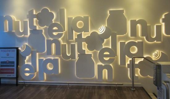Nutella Wall!