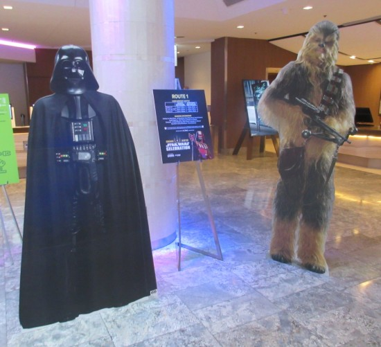 Star Wars standees!