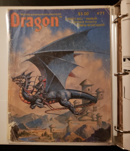 Dragon 71 cover!