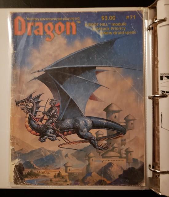 Dragon 71 cover!