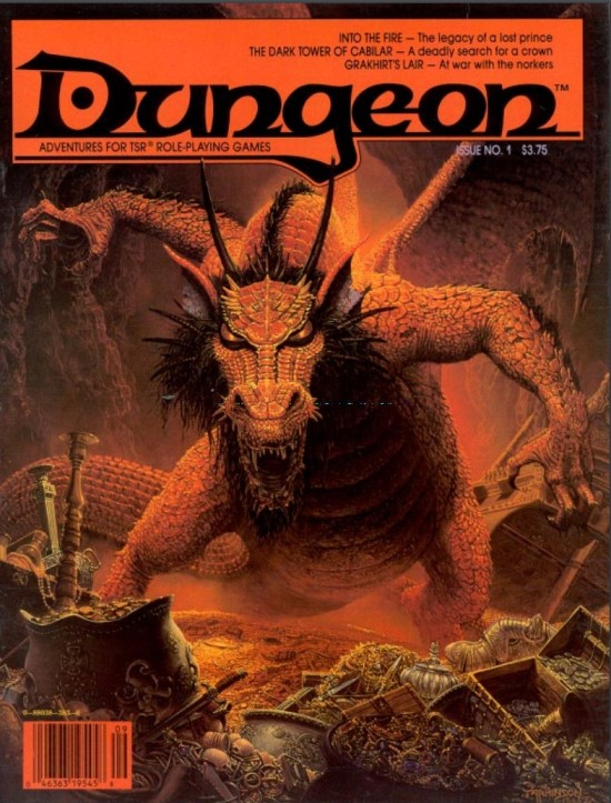 Dungeon #1 cover!