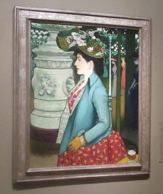 Elegant Woman at the Elysee Montmartre!