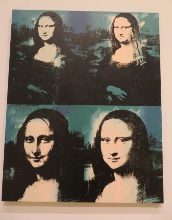 Four Mona Lisas!