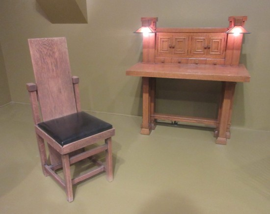 Frank Lloyd Wright furniture!