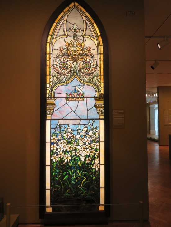 Lilies (Corey Memorial Window)!