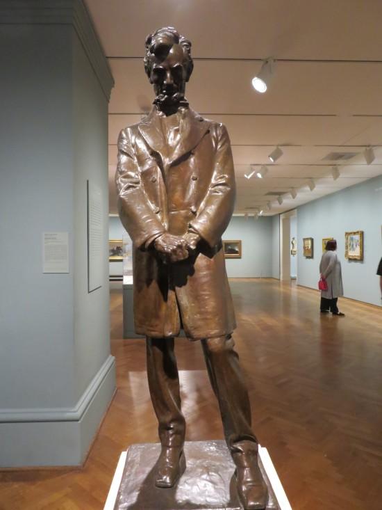 Lincoln statue!