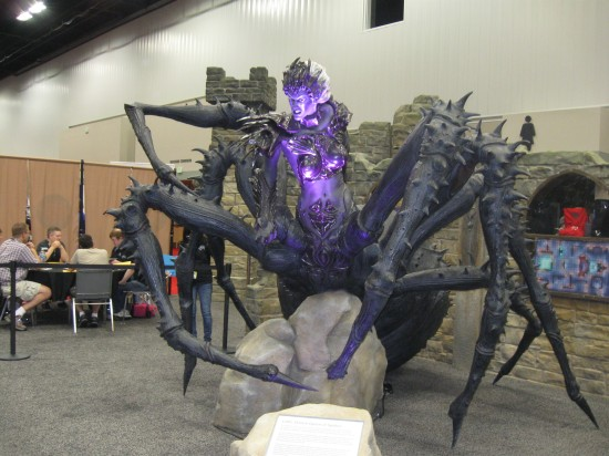 Lolth, Demon Queen of Spiders!