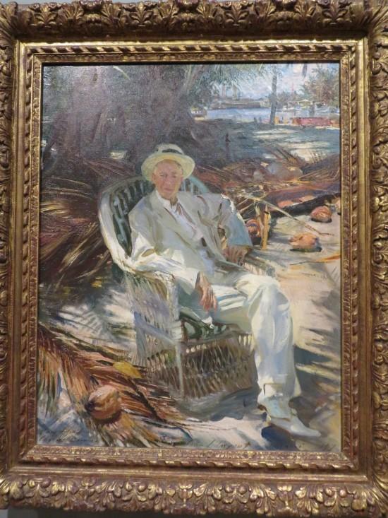 Portrait of Charles Deering!