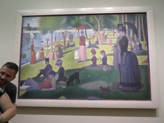 Sunday on La Grande Jatte!