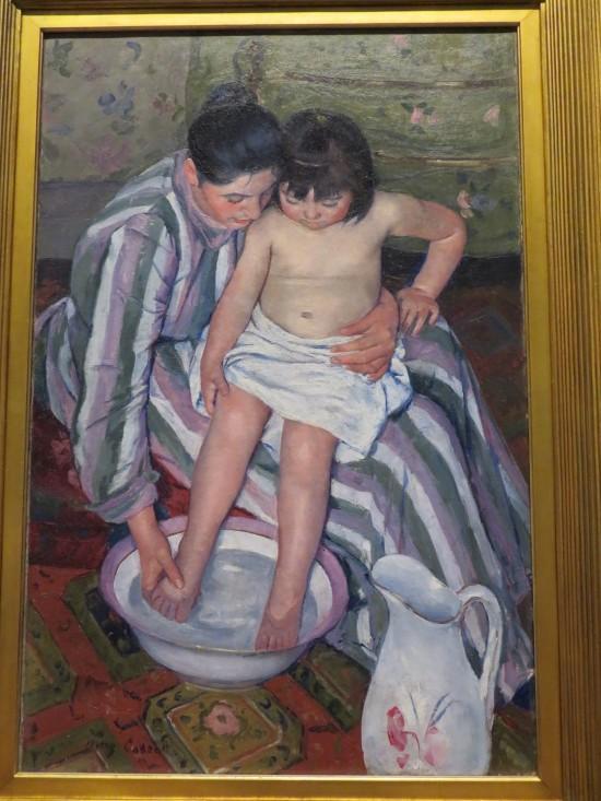 The Child's Bath!
