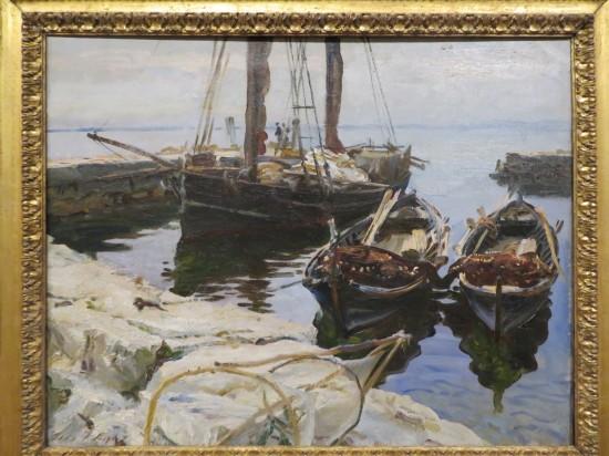 Three Boats in Harbor!