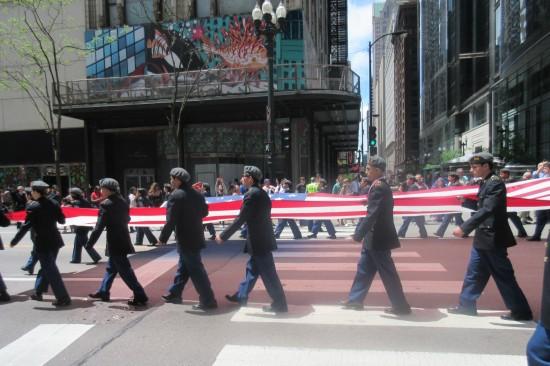 walking flag!