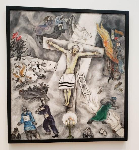 White Crucifixion!