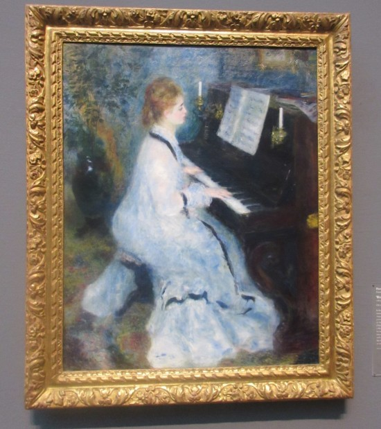 Woman at the Piano!