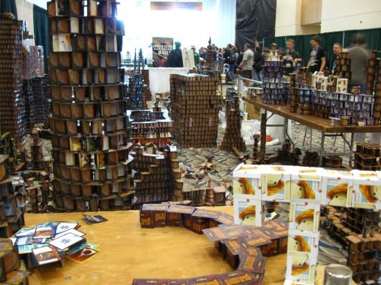 Magic Card Houses!