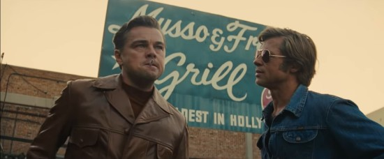 Once Upon a Time in Hollywood!