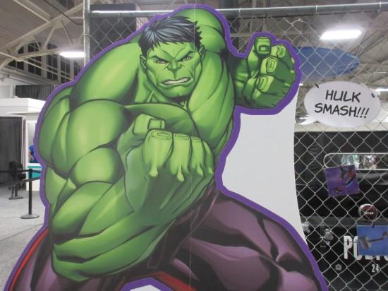 cardboard Hulk!