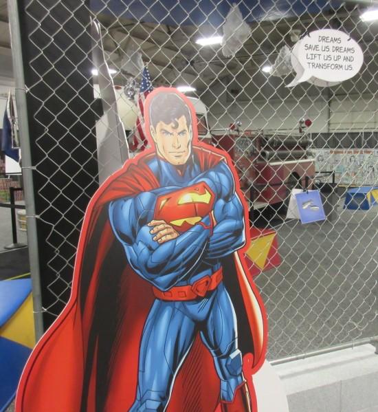 cardboard Superman!
