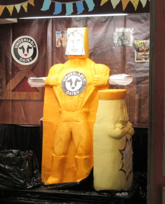 cheese sculpture 2019!