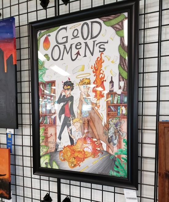 Good Omens art!