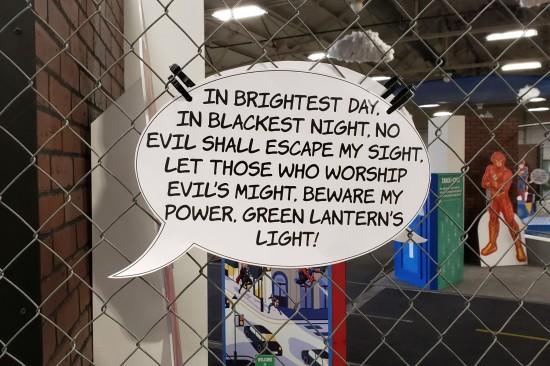 Green Lantern oath!