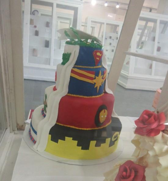 hero cake!